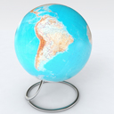 Globe of the World geographic