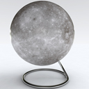 Globe of Mercury space