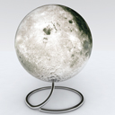 Globe of Moon space